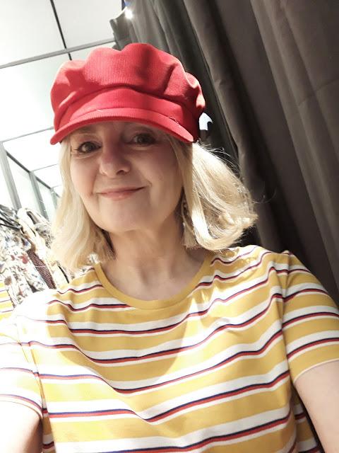 image showing zara bakerboy cap