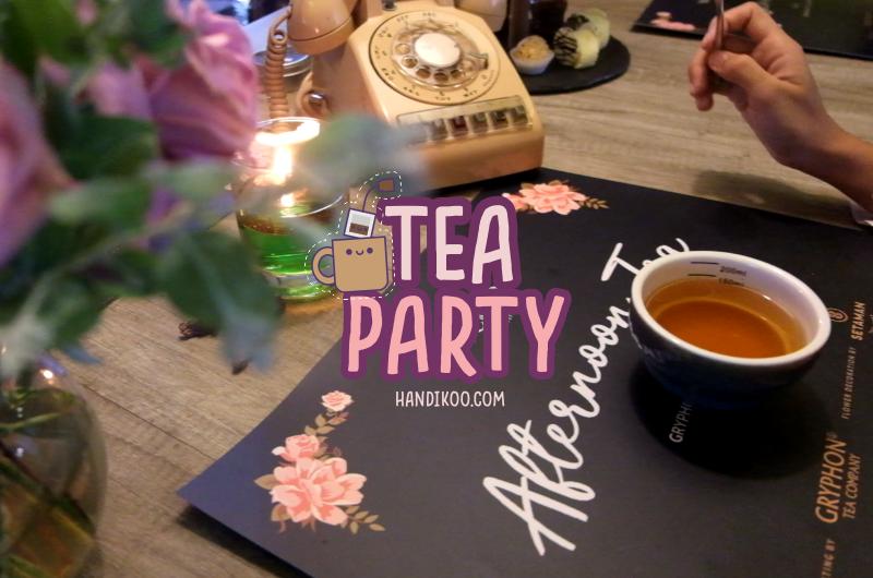 Afternoon Tea yang Menyenangkan