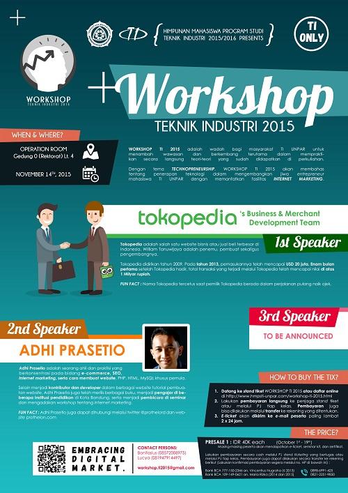 10 Contoh Desain Poster Seminar Keren - Ucorel