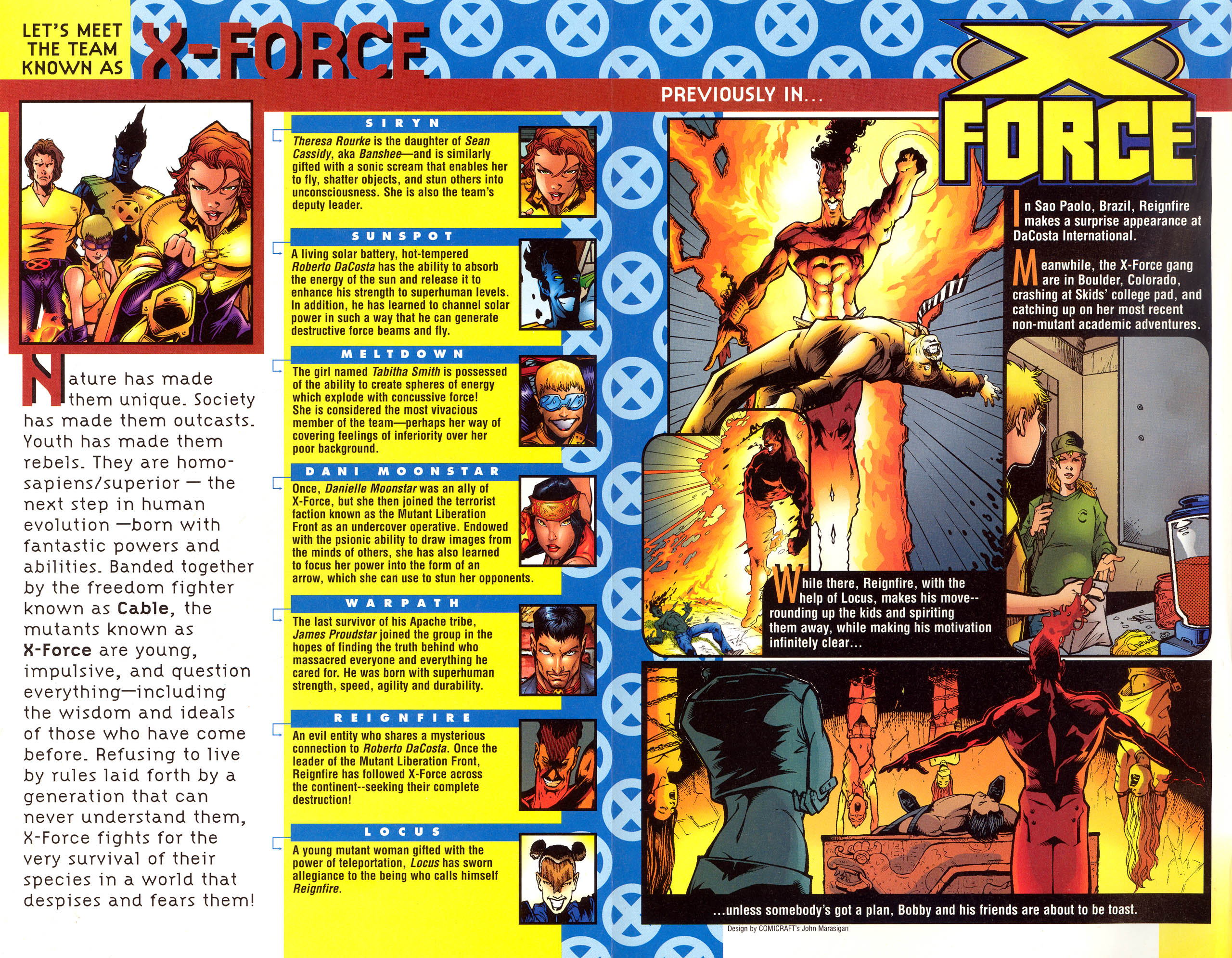 Read online X-Force (1991) comic -  Issue #79 - 3