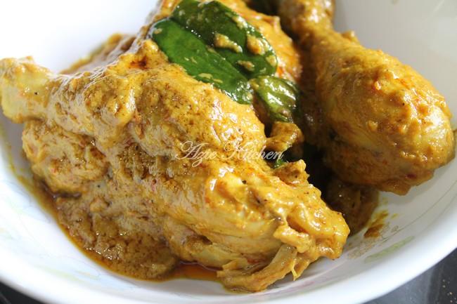 Rendang Ayam Cili Padi Nogori Yang Sedap - Azie Kitchen