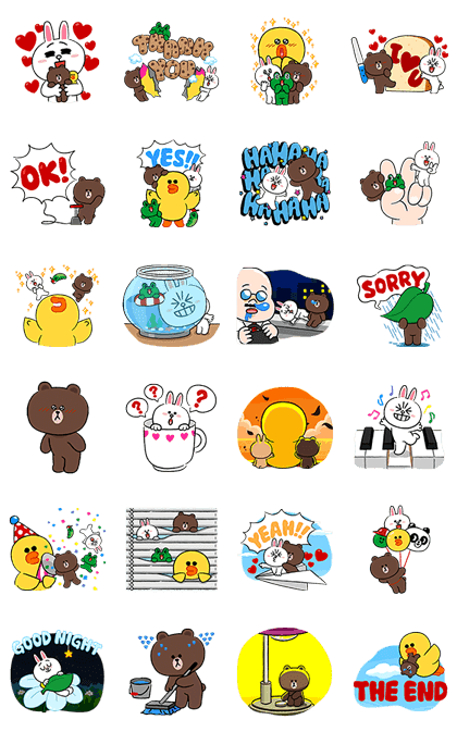 LINE Characters Fun Size Pack