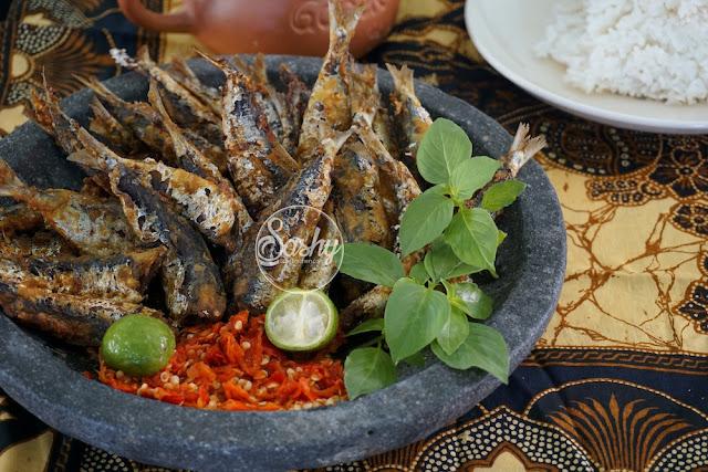 Ikan Sarden Goren (Be Kocing Megoreng)