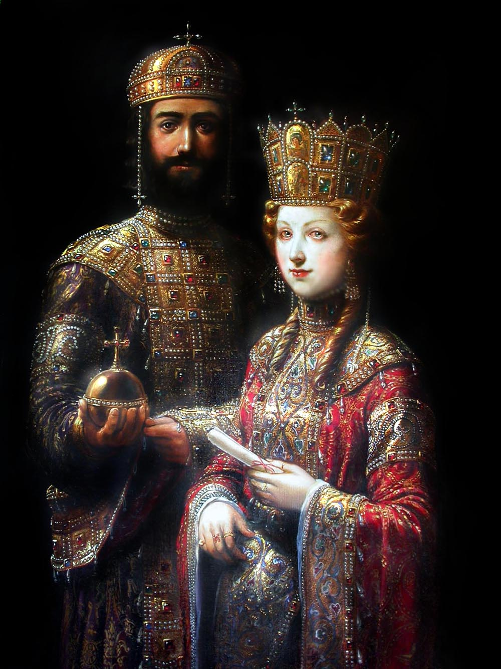 John II Komnenos and Irene of Hungary