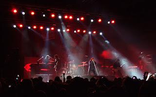 Imagen de un concierto de Europe en Sofía en 2012. Fuente Wikipedia - Autor: MrPanyGoff - Own work (cc: by-sa)