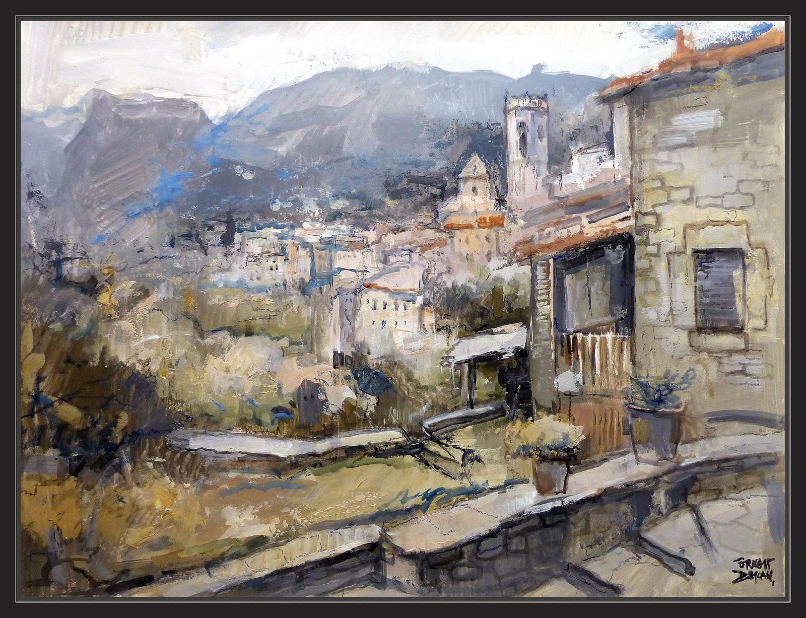 Ernest descals artista pintor - Trabajo de pintor en barcelona ...