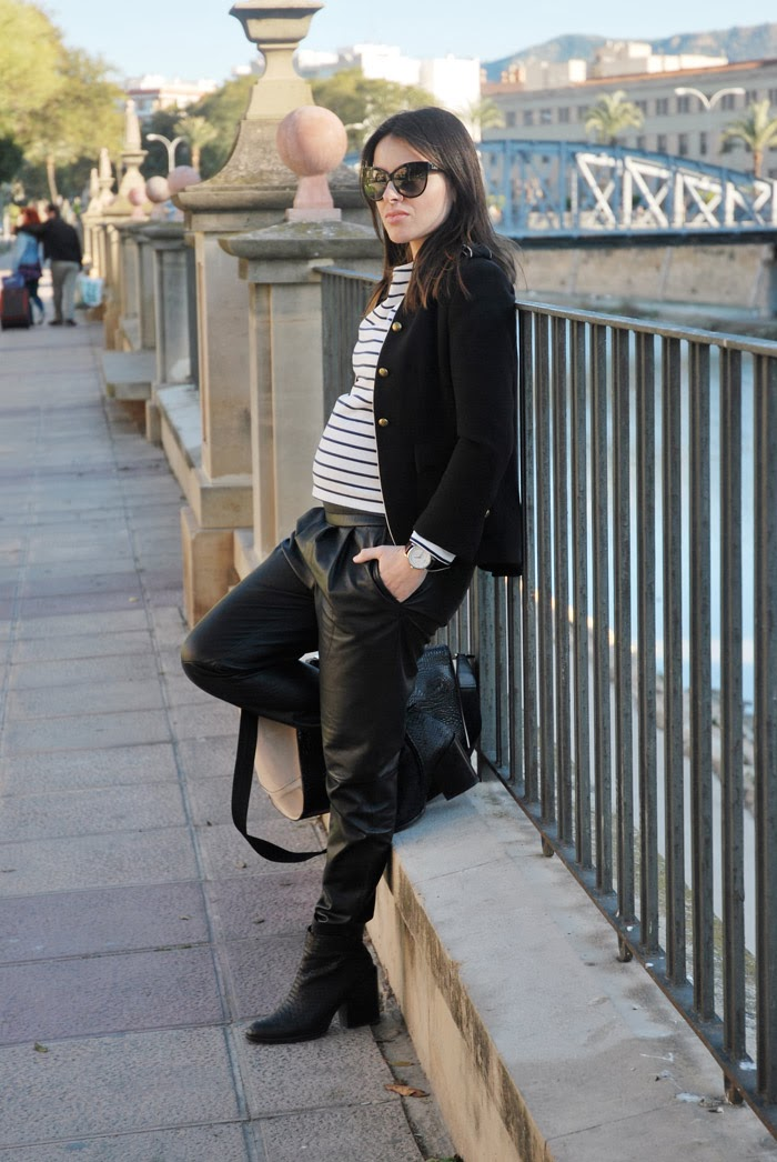 Leather Stripes StreetStyle