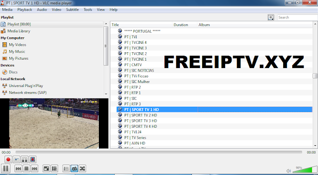 Free IPTV m3u Portugal - Download Free IPTV Links List m3u