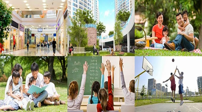 Tiện ích hiện đại sẽ có tại chung cư Red River View