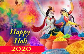 HAPPY Holi Whatsapp Status Image and GIF animated picture 2020