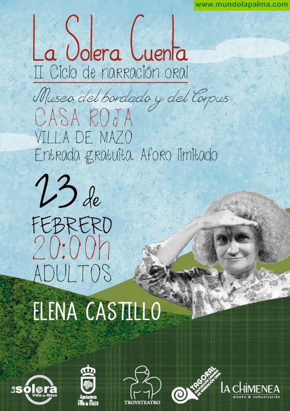 Villa de Mazo presenta una nueva edición del ciclo de narración oral 'La Solera Cuenta'