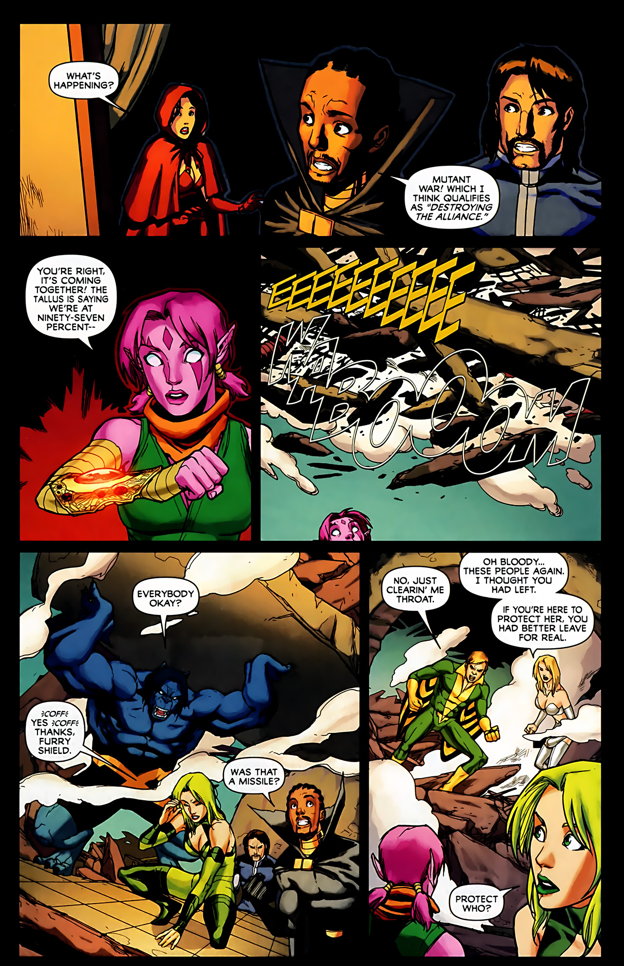 Read online Exiles (2009) comic -  Issue #6 - 11