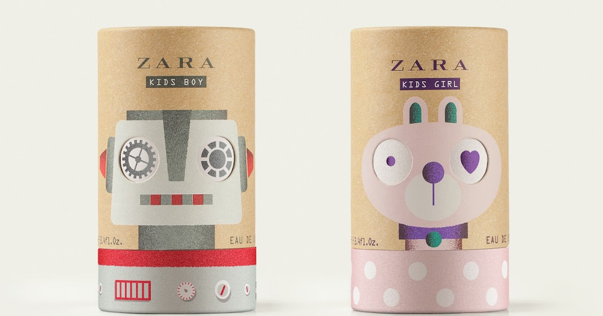 Zara Kids Fragrance On Packaging Of The World Creative