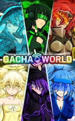 Download Gacha World Apk v1.2.5 Mod (Unlimited Gems & More) Update Terbaru 2016