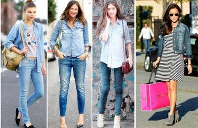 Baju Jeans Wanita