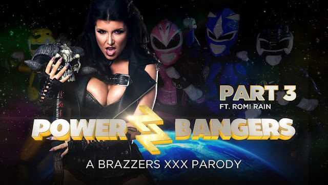 Romi Rain – Power Bangers XXX Parody Part 3