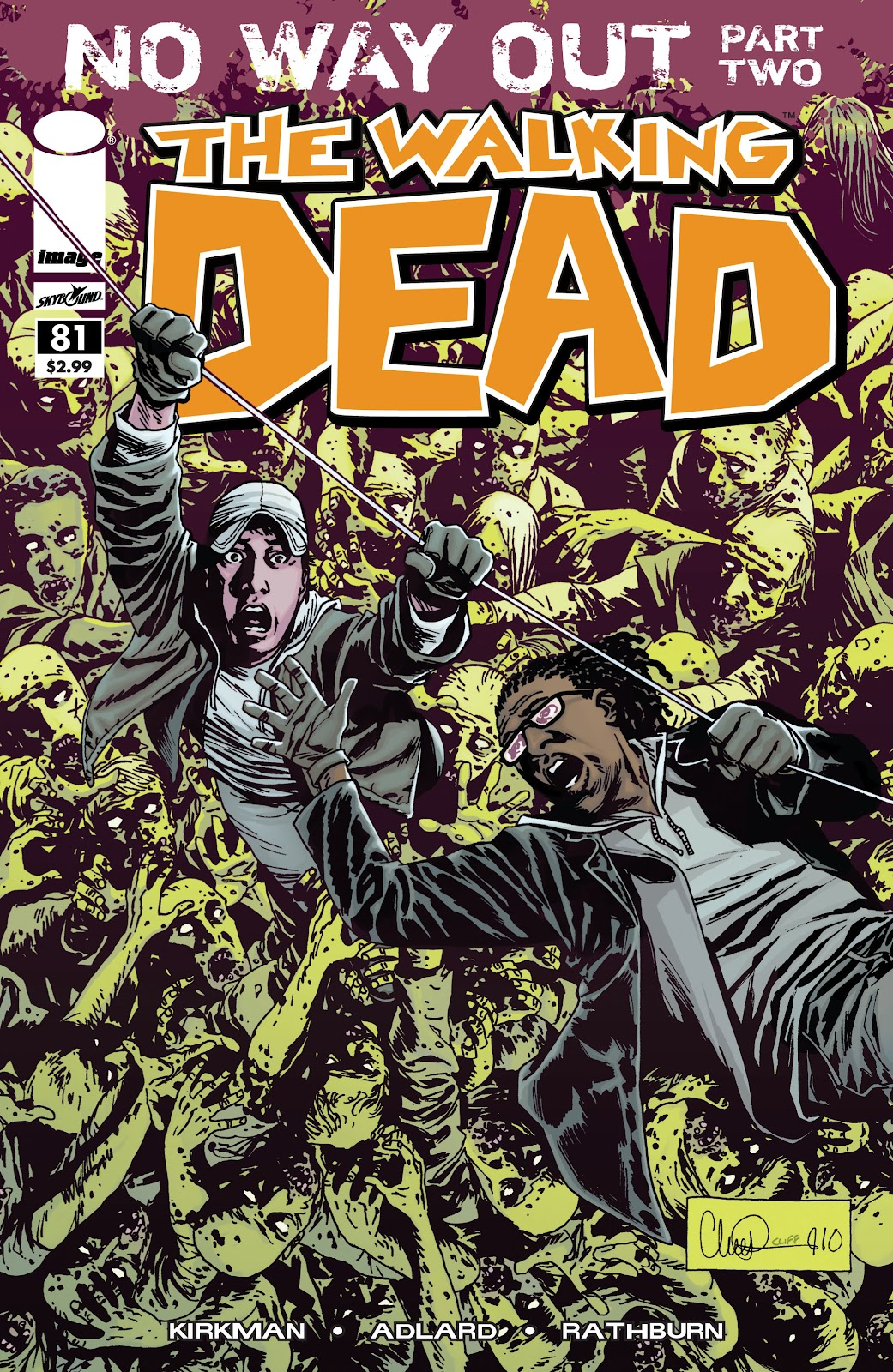 The Walking Dead issue 81 - Page 1