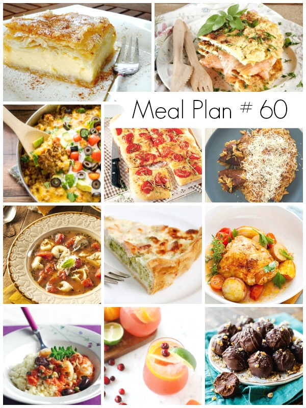 Save time and money with meal planning. Get this week's meal plan loaded with delicious recipes.