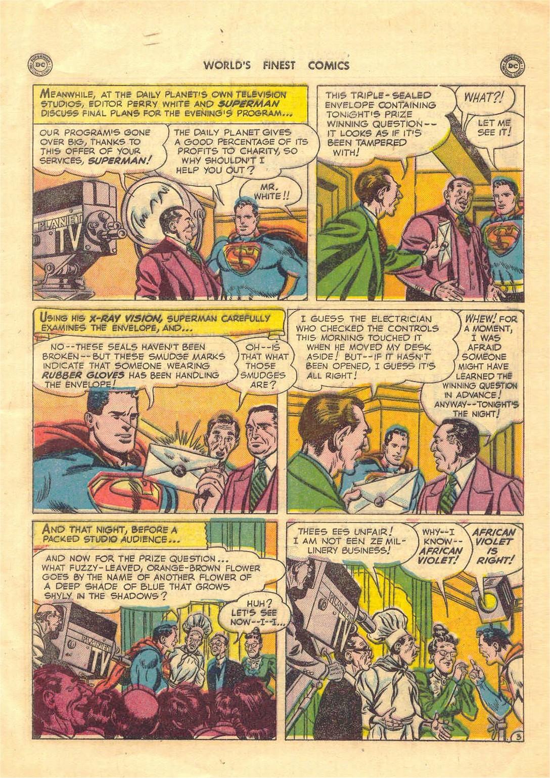 Read online World's Finest Comics comic -  Issue #52 - 5