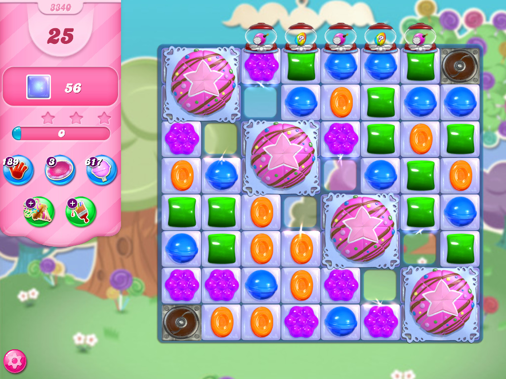 Candy Crush Saga level 3340