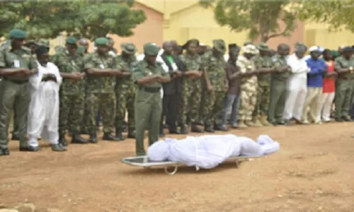 ARMY UNHAPPY WITH HOW COLONEL DIED, VOWS TO FISH OUT KILLERS