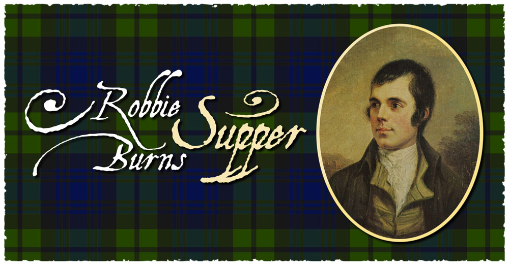 Image result for robbie burns night