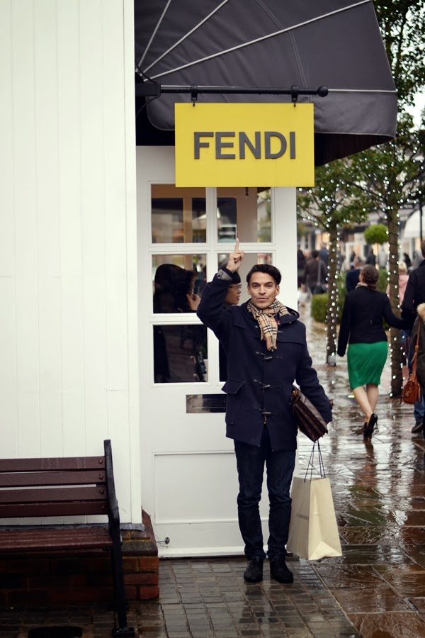 Fendi Model Michael Dierks Marco Mommsen