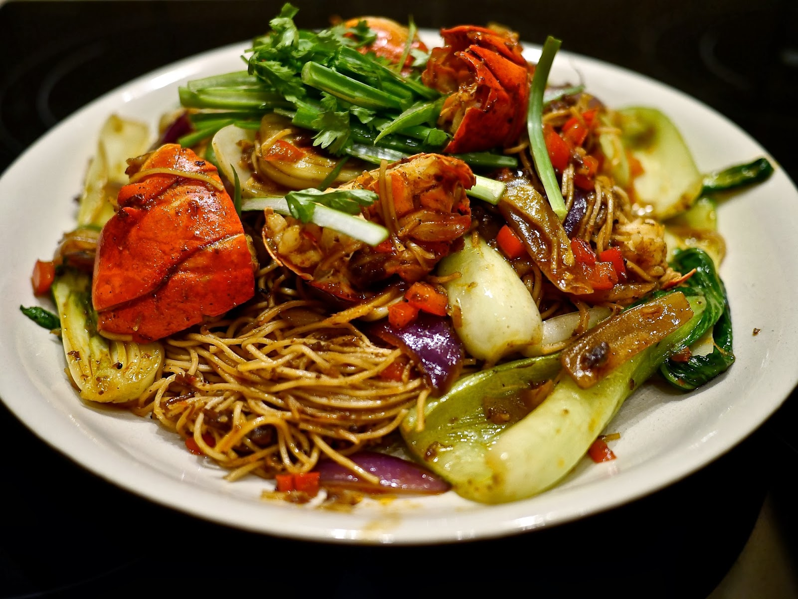 The Insatiable Eater Recipe Lobster Noodles In Xo Sauce