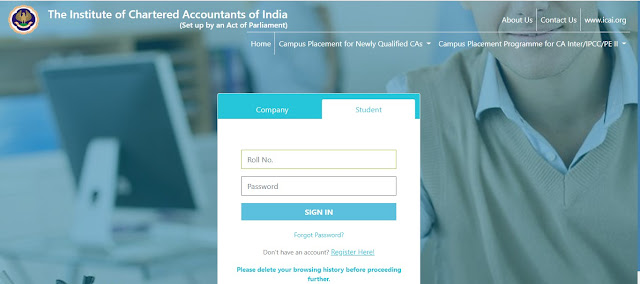 All about Campus placement program for newly qualified Chartered Accountants