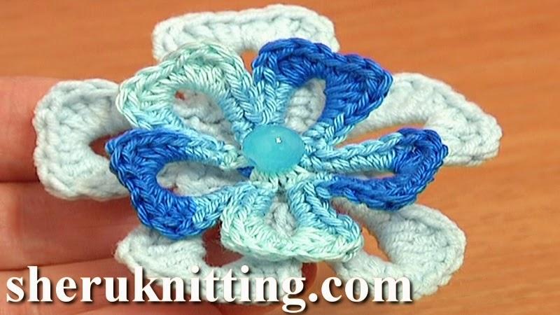 Crochet Flower Tutorial Sheru : Sheruknitting: ?????? 2014