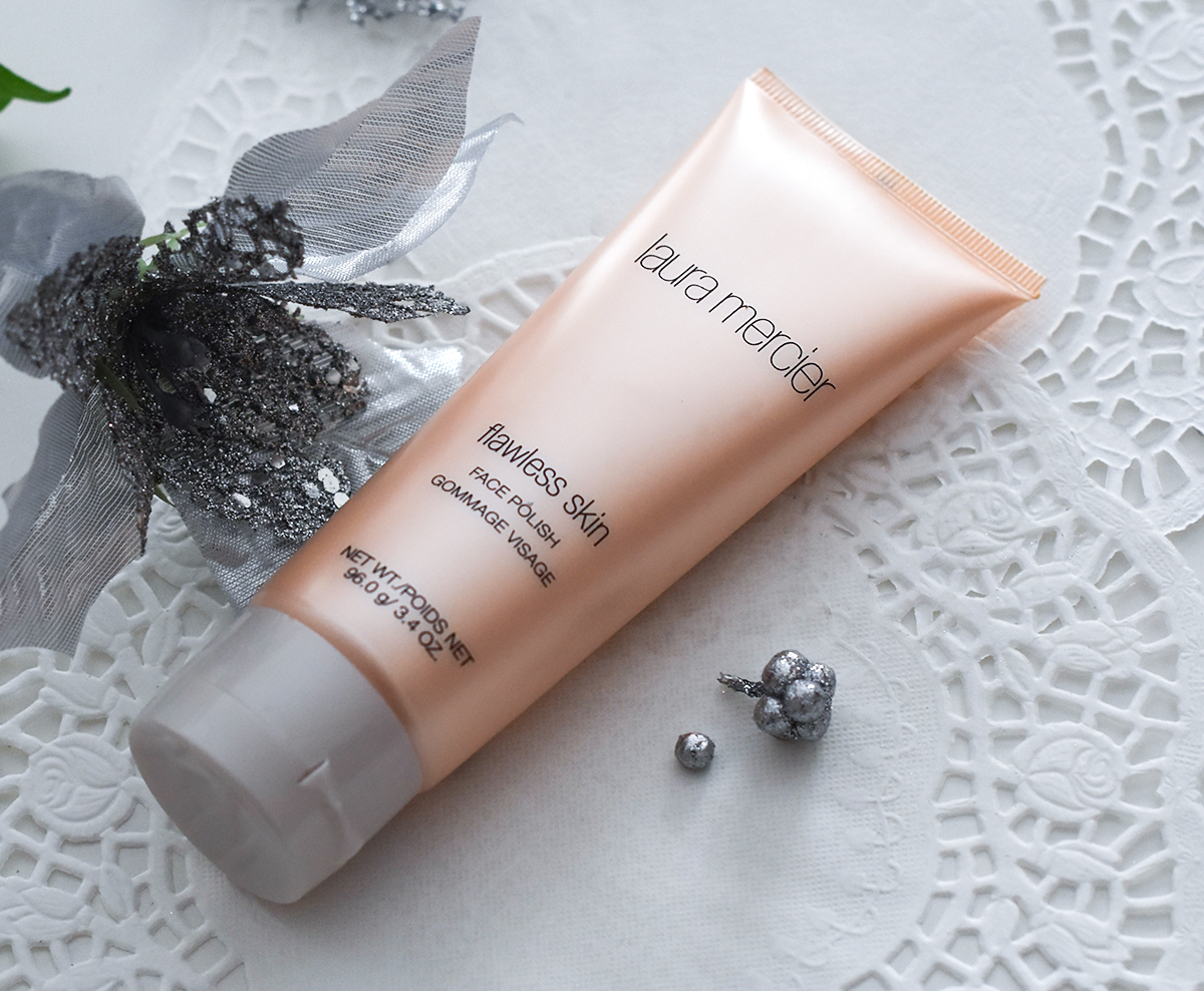 Laura Mercier Flawless Skin Face Polish scrub review,