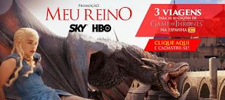 Promoção Meu Reino SKY HBO