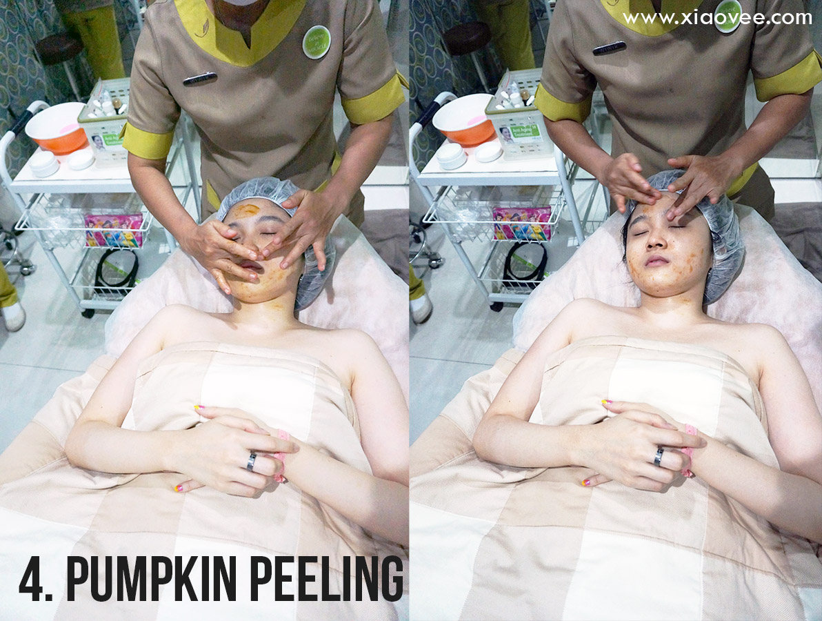 pumpkin peeling, peeling labu