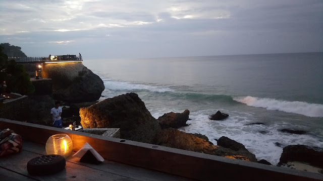 Sunset - di Rock Bar- Ayana- Bali