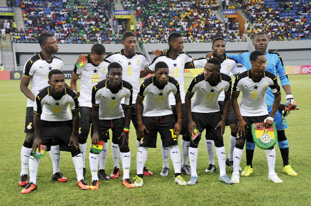 Ghana vs Mali at 2017 Under-17 Africa Cup of Nations (AFCON) final