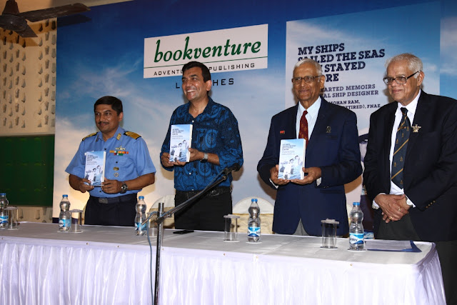 Captain NS Mohan Ram book 'My Ships Sailed The Seas But I Stayed Ashore'  launched