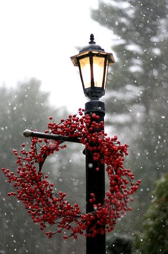 A snowy second Sunday of Advent...