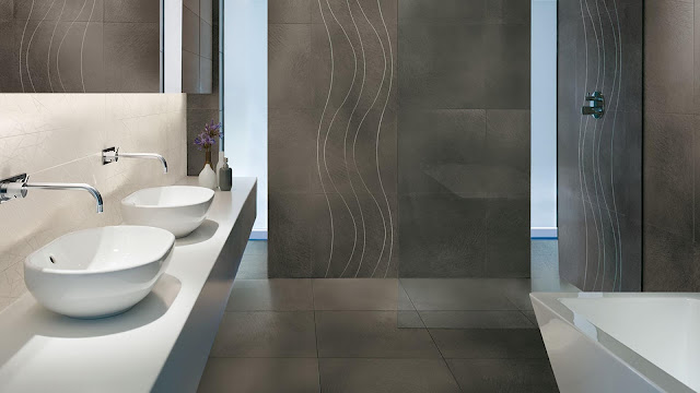 Tiles color and design with color effect of FLAIR collection