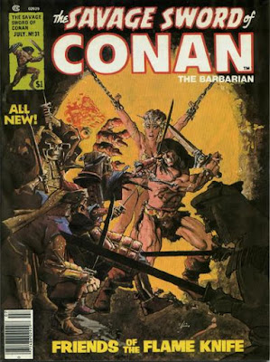 Savage Sword of Conan #31