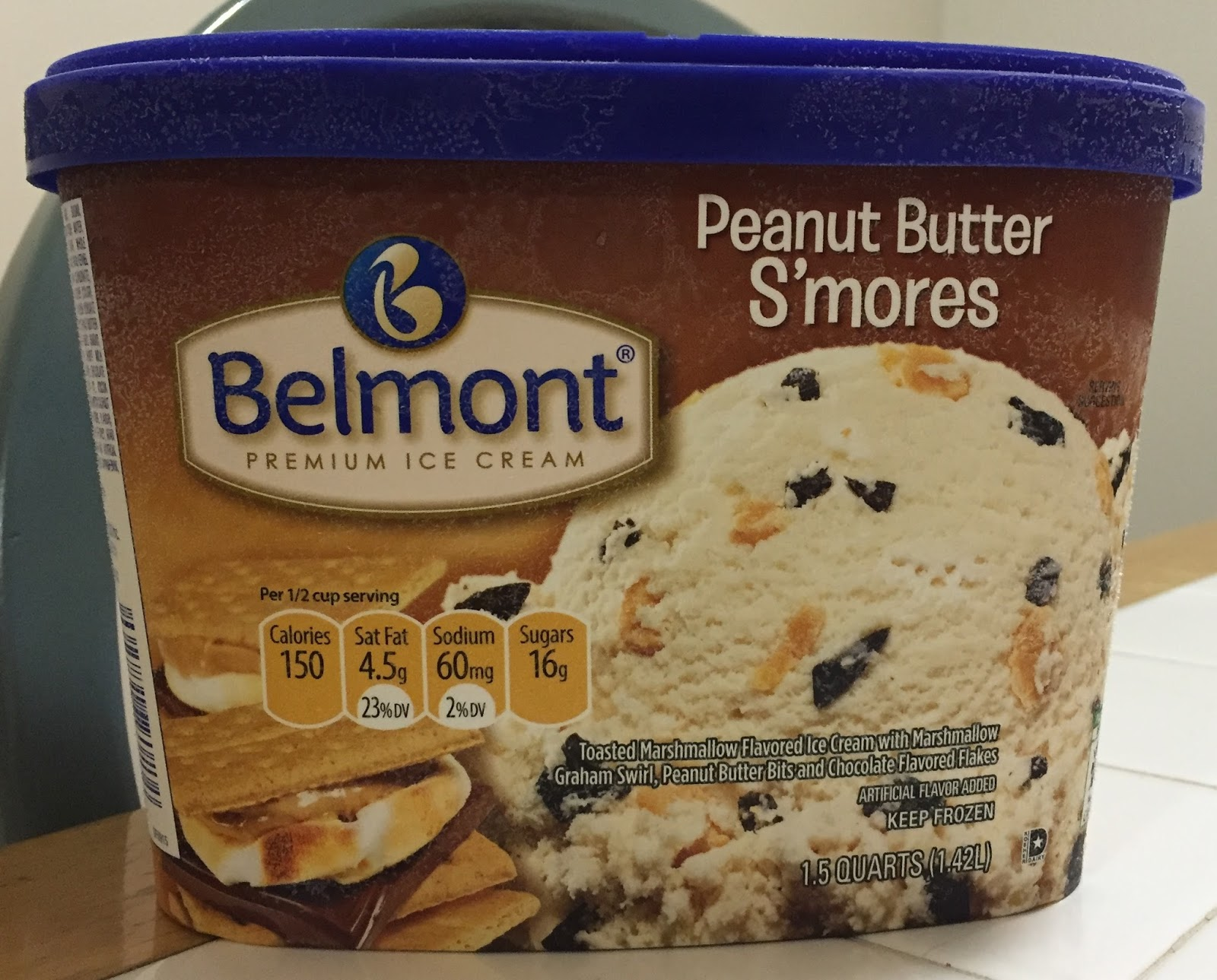 who makes aldi belmont ice cream