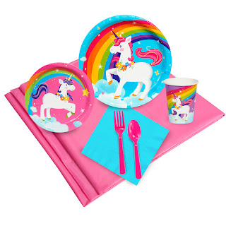 Fairytale Unicorn Party Party Pack