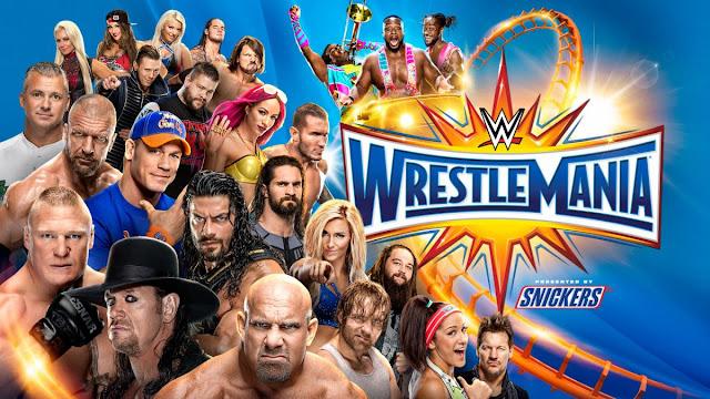 مشاهدة عرض راسلمينيا 33 بث مباشر مهرجان ريسلمانيا 2017 WWE WrestleMania 33 Live