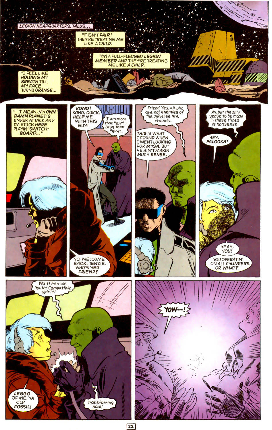 Legion of Super-Heroes (1989) 44 Page 22