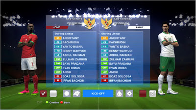 PES 2016 Start Screen Pack Tema Famous Player