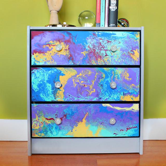 Flow Painted Dresser Ikea Hack