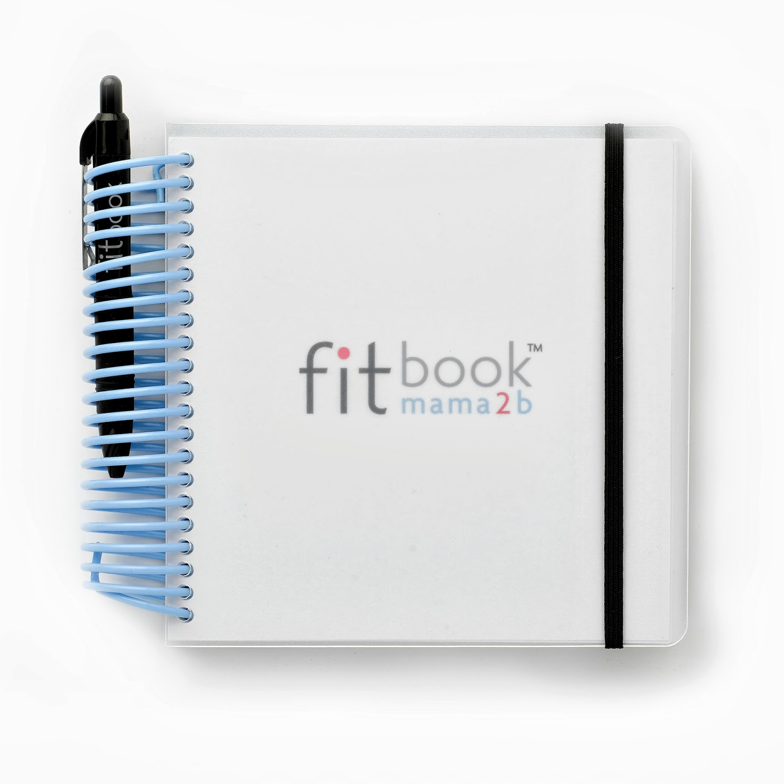fitbook mama2b pregnancy journal