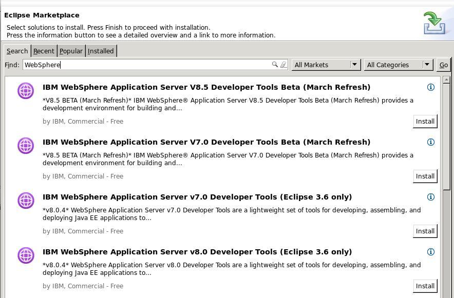 websphere application server developer tools for eclipse v7