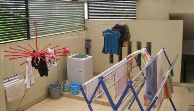 Anda Harus Tau...INI Bahayanya jika anda terbiasa menjemur pakaian di dalam rumah!!