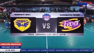 Final Liga Basket Putri Srikandi Sup Putaran 1