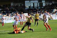 Partido del Barakaldo CF contra el Vitoria